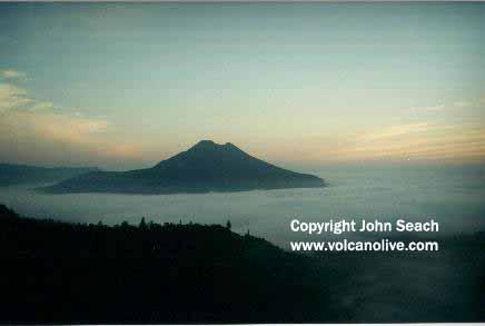 Volcano Bali Batur Batur Batur Volcano Bali