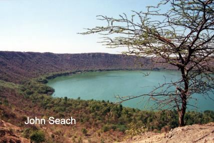 lonar meteorite crater india