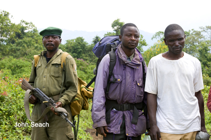 nyiragongo volcano security