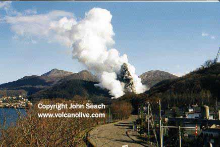 Usu Volcano, Japan - John