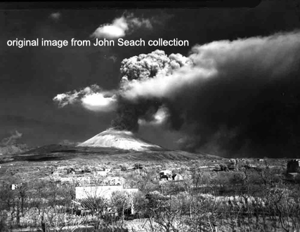 vesuvius eruption 1944